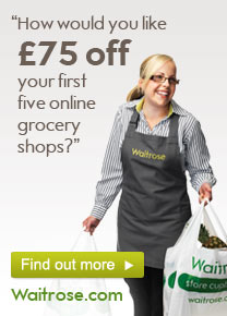 Get KidStart Savings on every purchase at Waitrose.com