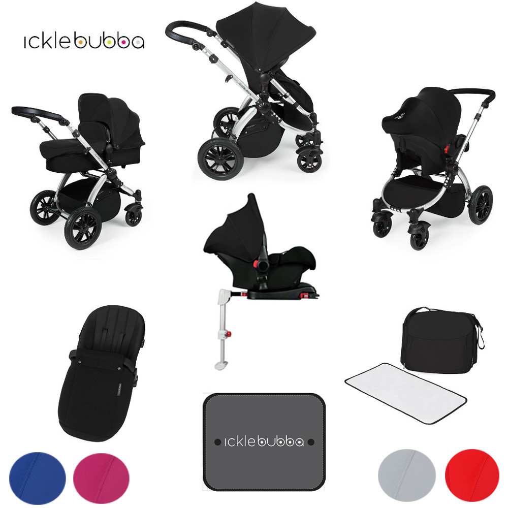 20 Off Ickle Bubba Stomp V3 Black All In One Travel