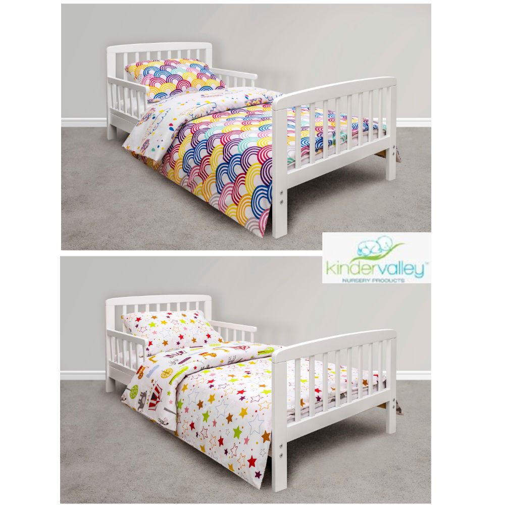 Toddler Bed Offers: 43% Off Kinder Valley 7 Piece Toddler Bed Bundle