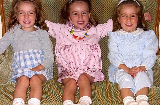multiple births triplets girls
