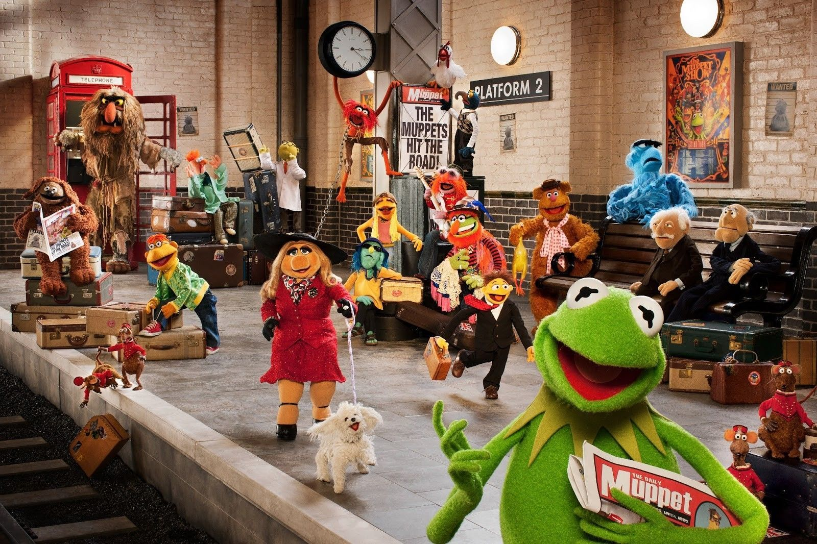 most wanted muppets