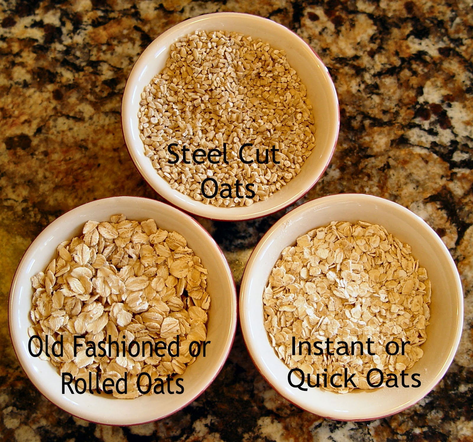 Rolled oats vs old fashioned 68