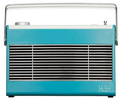1960s-style John Lewis 150th Anniversary Aston DAB FM radio