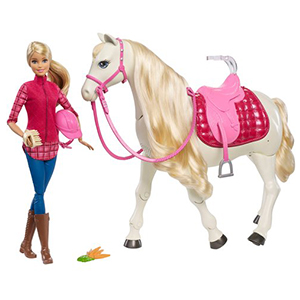 barbie dream doll and horse - smyths