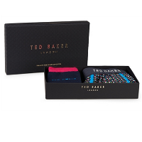 TED BAKER ASSORTED HEART PRINT SOCK AND BOXER SET - £30
