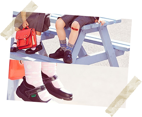 School's in! Go back to school in style with Kickers. We're pencils and rulers above the rest!