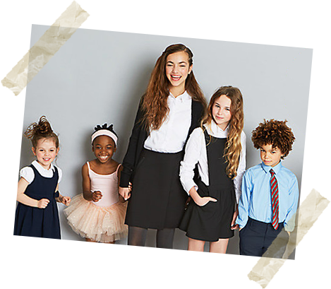 Get set for the year ahead with innovative schoolwear that grows with them. Prices start at £1.49