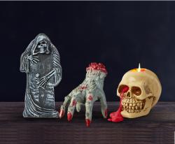 Tesco Halloween dead good decorations