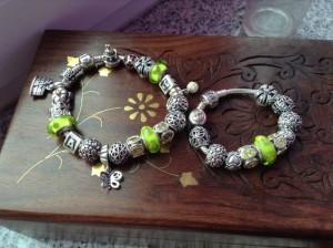 Mother and Dauther Pandora bracelet