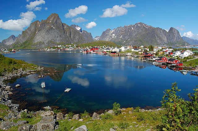 Reine in Lofoten, Northern Norway