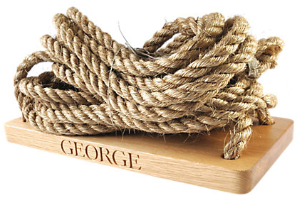 The Oak And Rope Company Personalised Swing