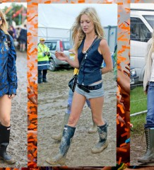 Wellies during Summer Festivals