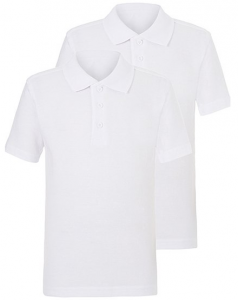 Stay White Polo Shirts - White - 2-3 Years