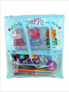 Peppa Pig Stationery Filled Bag