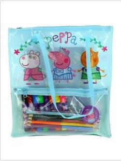 Peppa Pig Stationery Filled Bag