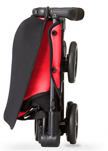 folding and unfolding travel stroller