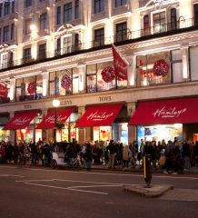 Hamleys London Christmas