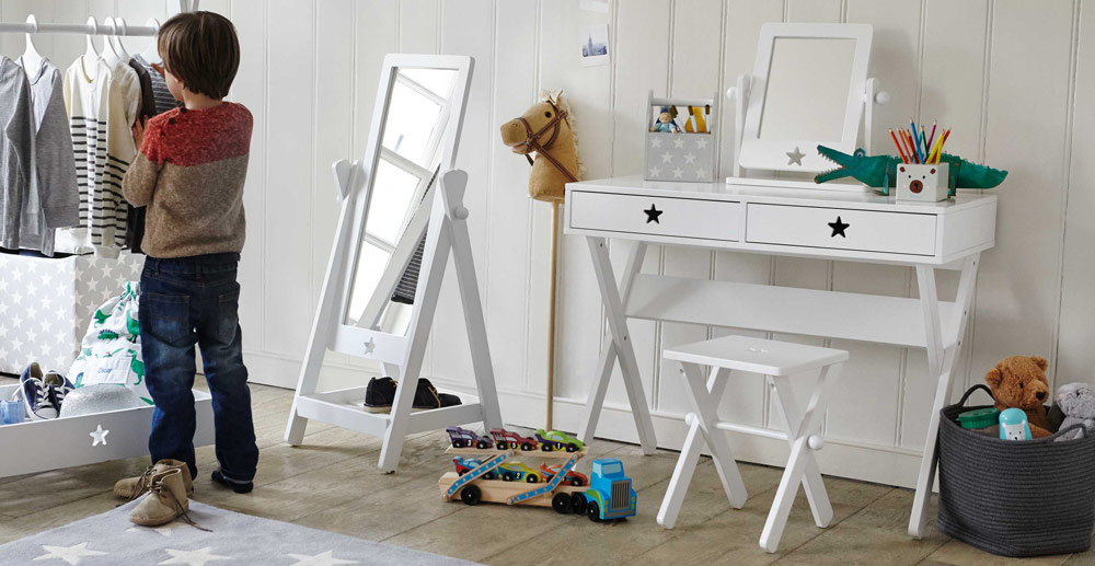 star bright desk and mirror