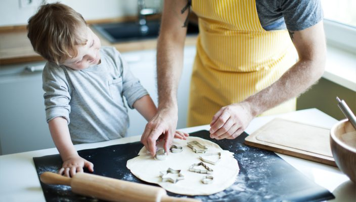 annabel karmel Cookies Father and Son cooking