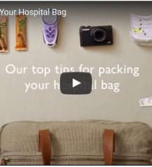 what to pack in your hospital bag video
