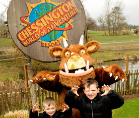 Gruffalo Meet and Greet - Kids Go Free - Chessington
