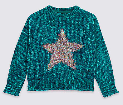 star jumper - M&S