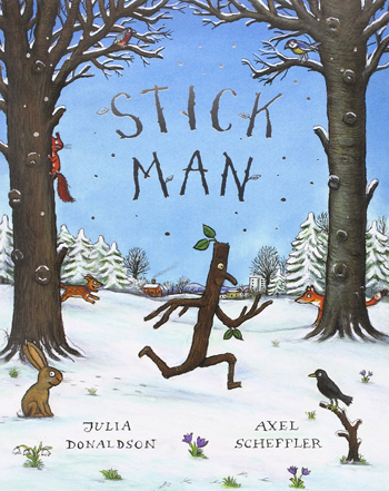 The Stick Man - Christmas Books