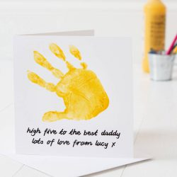 Father's Day Card - High Five