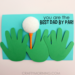 Father's Day Card - Best Dad By Par