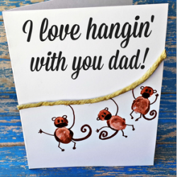 Father's Day Card - Daddy's Little Monsters