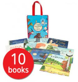 Julia Donaldson 10 Book Collection only £12.99, that's £1.30 a book with The Book People