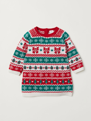 H&M girls Christmas jumper