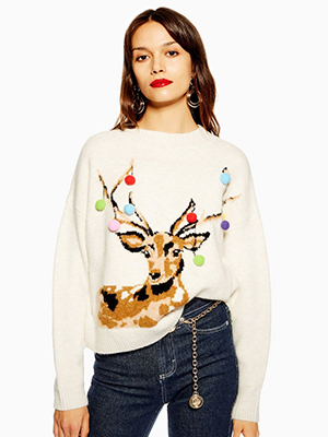 Women's Topshop Christmas Jumper