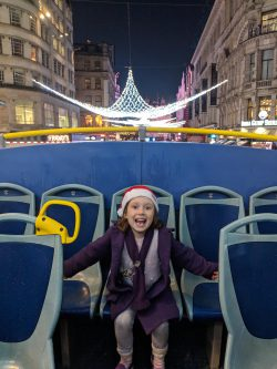London Christmas Lights - The Original Tour - First on the Bus!