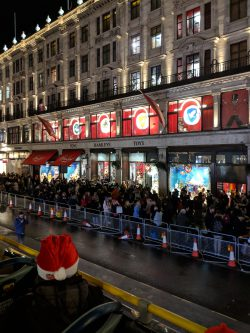 Hamleys Windows Christmas 2018