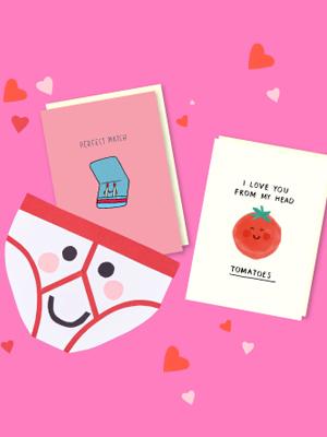 Scribbler Valentine's Day Card