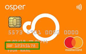 Osper card