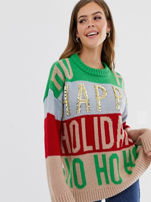 ASOS womens Christmas jumper
