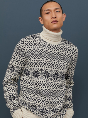 H&M mens Christmas Jumper