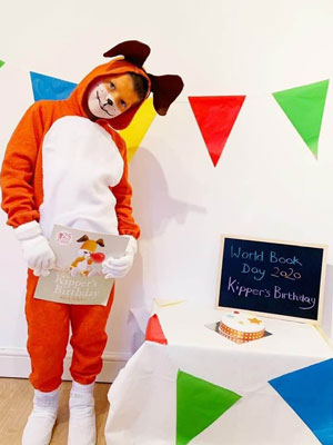 World Book Day Kipper