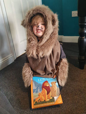 World Book Day Lion King