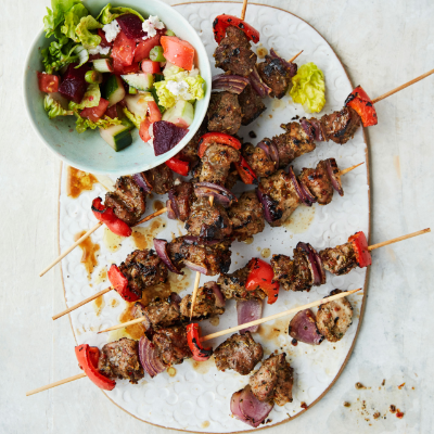 Waitrose Pork Souvlaki BBQ recipe