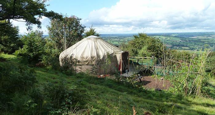 Yurt staycation