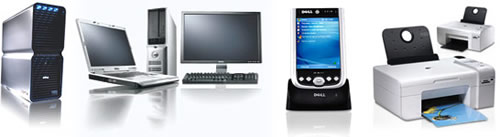 The Dell product range includes world-class PC's, notebooks, printers, flat-screen TVs, and PDAs